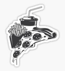 Pizza combo Sticker