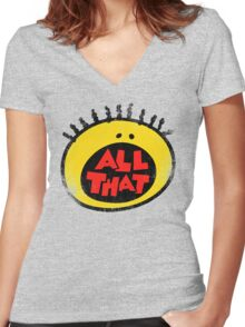 All That (vintage) Women's Fitted V-Neck T-Shirt