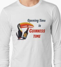 Guinness Time Vintage Logo T-Shirt