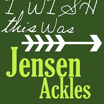 I wish this was Jensen Ackles by morigirl