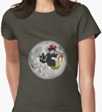 Kiki - Kiki's Delivery Service, (1989) Womens Fitted T-Shirt