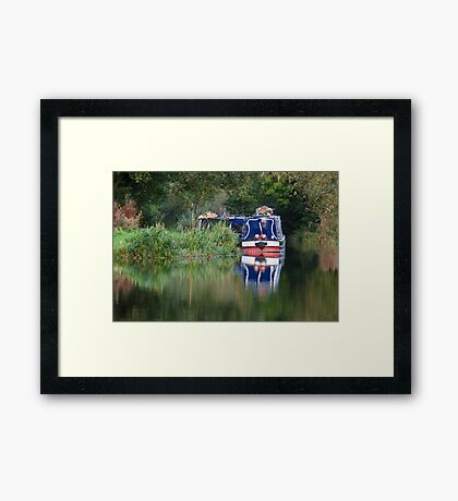Trent and Mersey in Summer Framed Print