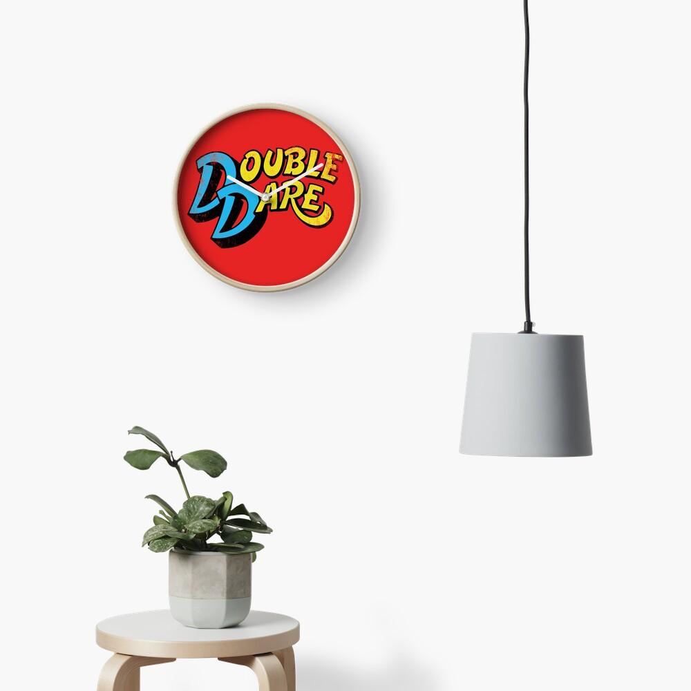 Double Dare (vintage) Clock