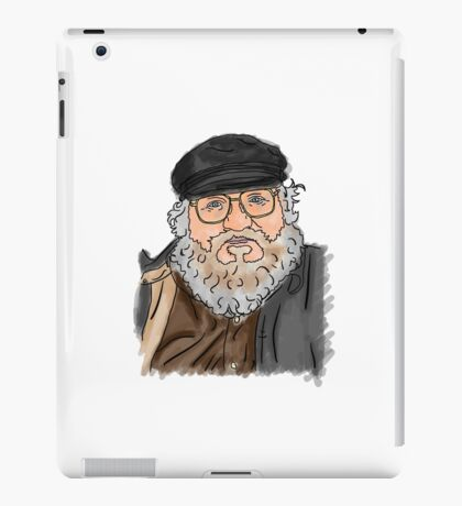 George R R Martin iPad Case/Skin