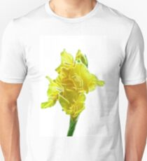 yellow gladiolus Unisex T-Shirt