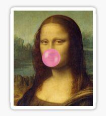 The Bubble Gum Mona Lisa Sticker