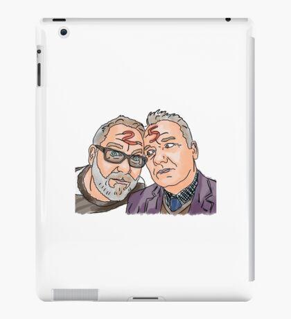 Vic and Bob iPad Case/Skin