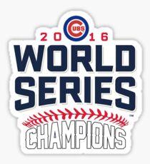 Chicago Cubs Champion World Series 2016 Sticker
