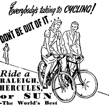 Vintage Cycling Ad 2 by masseygoose