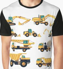 Construction machiner Graphic T-Shirt