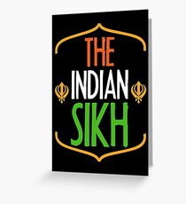 The Indian Sikh Greeting Card