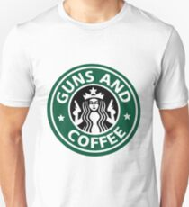 guns and coffee RC T-Shirt