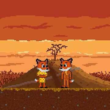 Mr. Fox Pixel-A by BalageBoutik