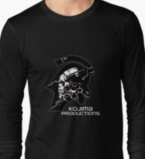 KOJIMA PRODUCTIONS New Kojipro Logo Hideo Kojima Long Sleeve T-Shirt