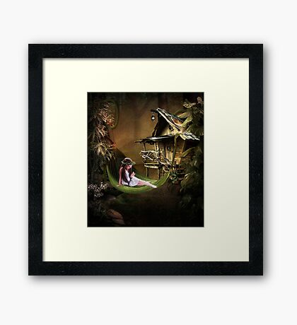 Wild Child... Framed Print