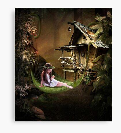 Wild Child... Canvas Print