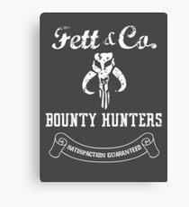 Fett & Company - Bounty Hunters Canvas Print