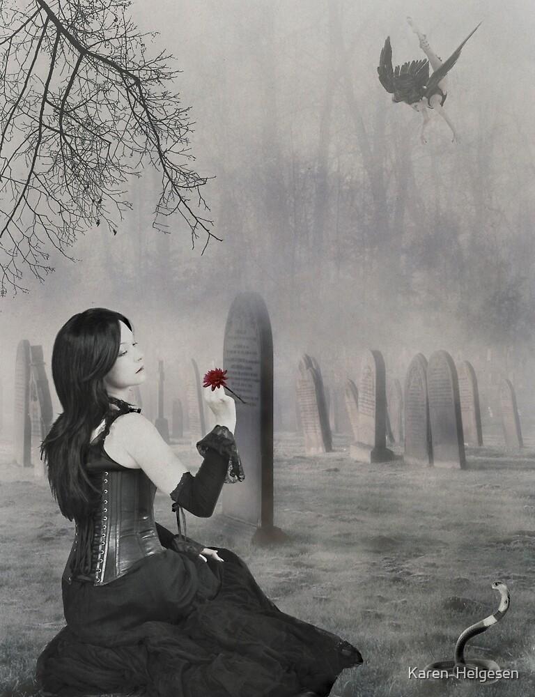 Where My Demons Hide... by Karen  Helgesen
