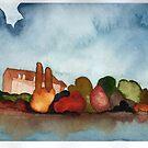 « Lac d'automne » par studiocyanotype