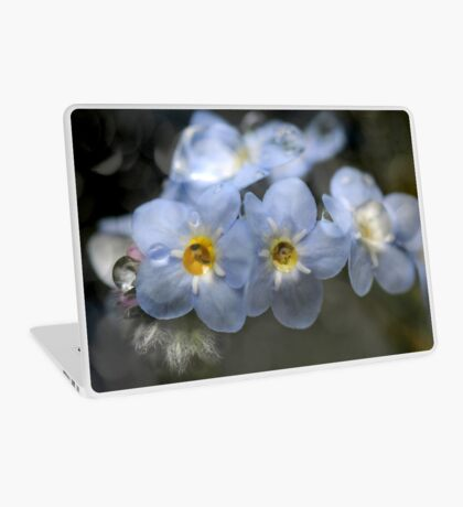 Forget-me-not Laptop Skin