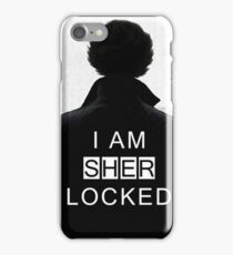 sher locked iPhone Case/Skin