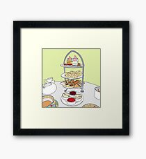 English Afternoon Tea Framed Print