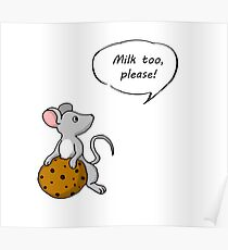 Give a Mouse A Cookie- Poster