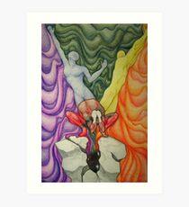 Frailty, Album Cover Art 2014 Art Print
