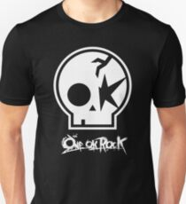 ONE OK ROCK Logo blanco Unisex T-Shirt
