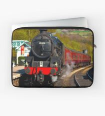 At The Platform - Grosmont Laptop Sleeve
