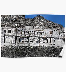 Xunantunich Mayan Ruins in Belize Poster