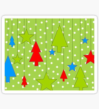 Hanging Christmas Sticker