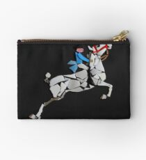 Lipizzaner Performing the Capriole Studio Pouch