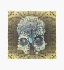 sayagata gold papua skull Scarf