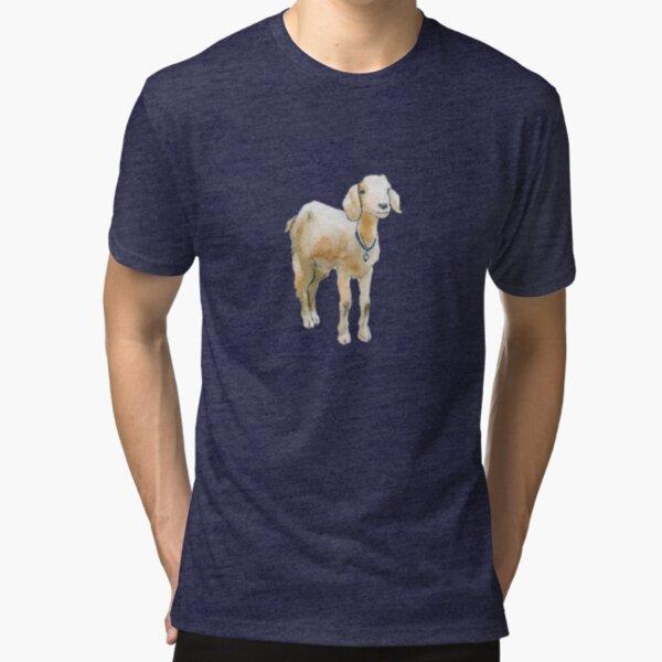Baby Goat Tri-blend T-Shirt