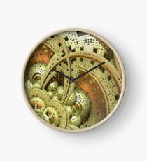 Industrielle Steam Punk Cogwheels Uhr