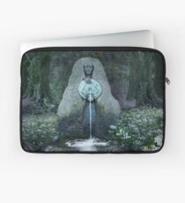 Beltane: Lady of the Sacred Well  Laptop Sleeve