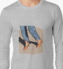 Orange shoes Long Sleeve T-Shirt