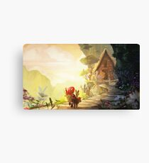 The Return Home  Canvas Print