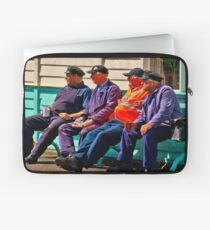 Everything Stops for Tea Laptop Sleeve