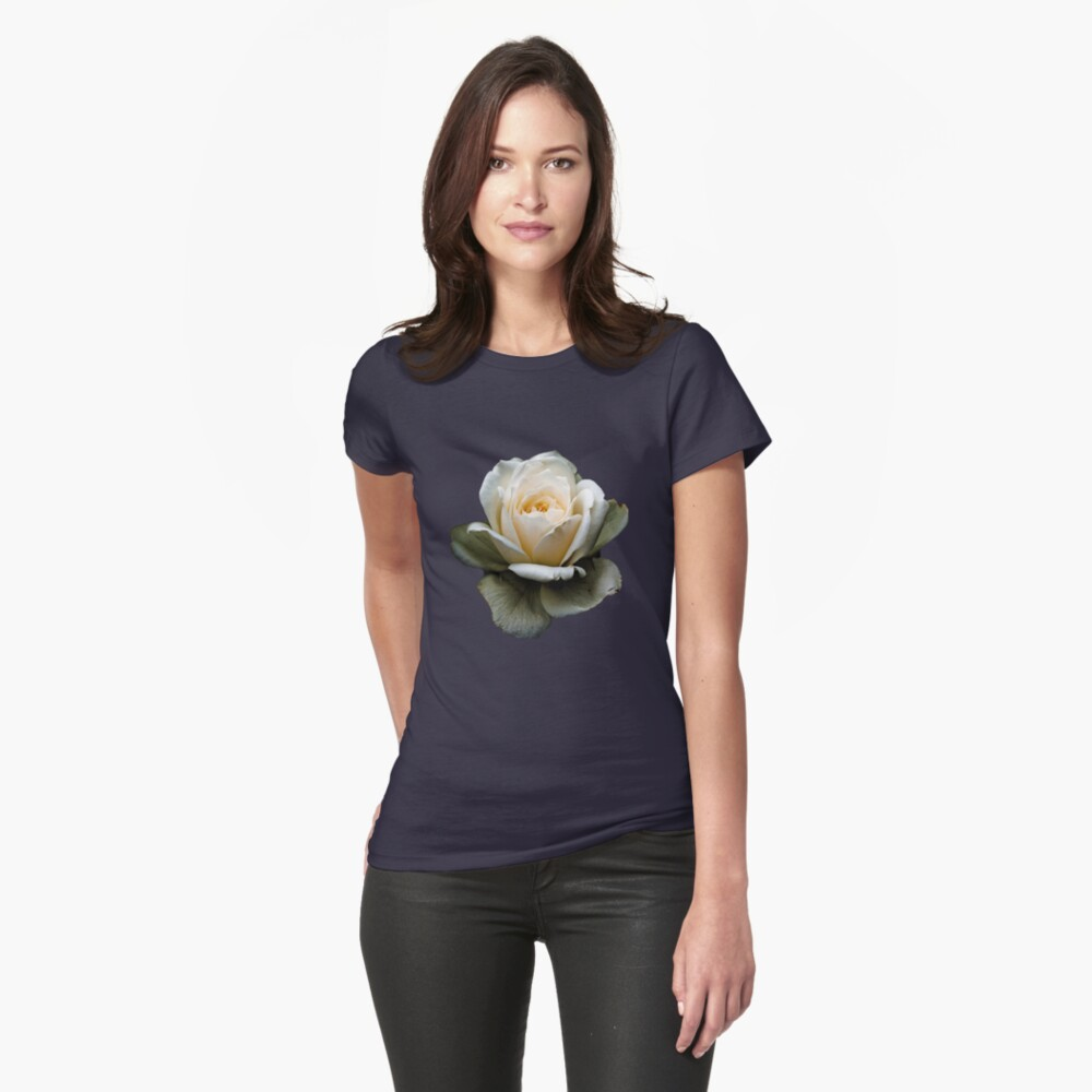 Black and White Womens T-Shirt Front