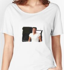 My Kind Of Man (Keanu Reeves Portrait) Women's Relaxed Fit T-Shirt