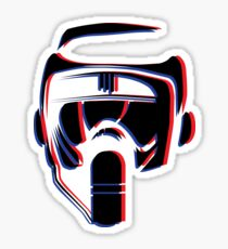3D Scout Sticker
