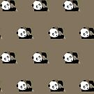 Panda in the tree (Pattern 2) by Adamzworld