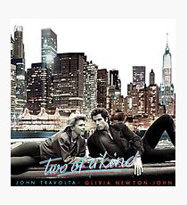 OLIVIA NEWTON-JOHN - JOHN TRAVOLTA - TWO OF A KIND Photographic Print