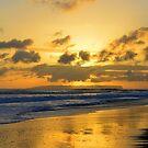 Kauai Sunset With Niihau On The Horizon by Catherine Sherman