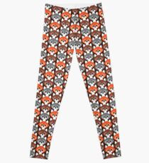 Endless Foxes! Leggings