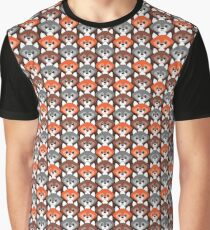 Endless Foxes! Graphic T-Shirt