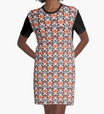 Endless Foxes! Graphic T-Shirt Dress