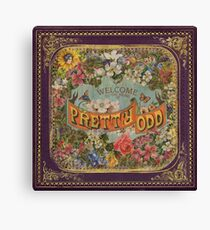 Pretty. Odd. Canvas Print